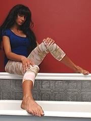 Bio page of Annai model